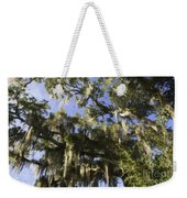 Live Oak Dripping With Spanish Moss Weekender Tote Bag