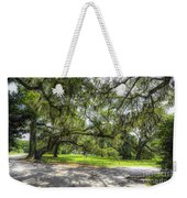 Live Oaks Dripping With Spanish Moss Weekender Tote Bag
