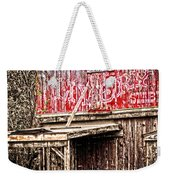 Livery Stable  Movie Set Weekender Tote Bag