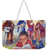 Living Bible Weekender Tote Bag by Tamer and Cindy Elsharouni