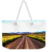 Living On Back Roads Weekender Tote Bag