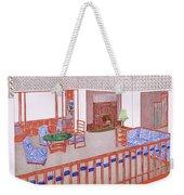 Living Room, Early 1900s Weekender Tote Bag