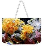 The Living Sea Weekender Tote Bag