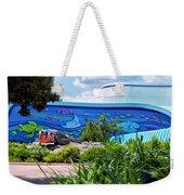 Living Seas Signage Walt Disney World Weekender Tote Bag
