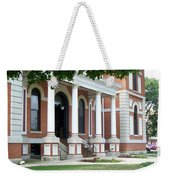 Livingston County Courthouse 05 Pontiac Il Weekender Tote Bag