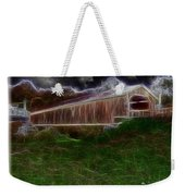Livingston Manor Covered Bridge - Featured In Comfortable Art Group Weekender Tote Bag