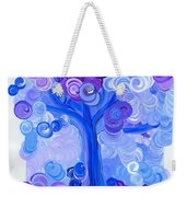 Liz Dixon's Tree Blue Weekender Tote Bag