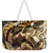 Lizard Detail II Weekender Tote Bag