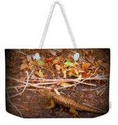 Lizard On The Loose Weekender Tote Bag