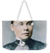 Lizzie Andrew Borden (1860-1927) Weekender Tote Bag