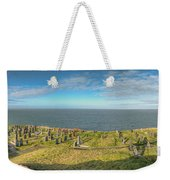 Llanbadrig Church Panorama Weekender Tote Bag