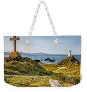 Llanddwyn Island Bench Weekender Tote Bag