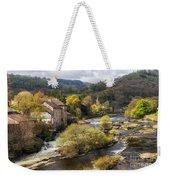 Llangollen And The River Dee Weekender Tote Bag