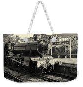 Llangollen Railway Weekender Tote Bag