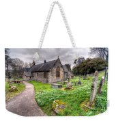 Llantysilio Church Weekender Tote Bag by Adrian Evans