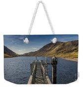Llyn Cowlyd Reservoir Weekender Tote Bag