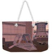 Loading A Cargo Pod Weekender Tote Bag