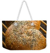 Loaf Of Fresh Baked Bread Weekender Tote Bag