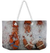Lobster At Woodman's Weekender Tote Bag