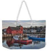 Lobster Boats At Motif 1 Weekender Tote Bag