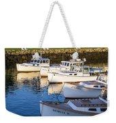 Lobster Boats - Perkins Cove -maine Weekender Tote Bag