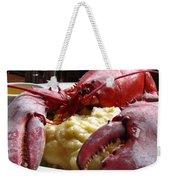 Lobster Dinner Weekender Tote Bag