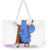 Lobster King Blue-blooded Crustacean Weekender Tote Bag