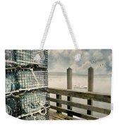 Lobster Nets Weekender Tote Bag