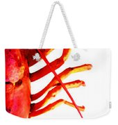 Lobster - The Right Side Weekender Tote Bag
