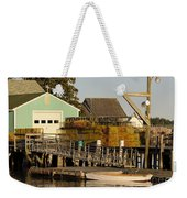 Lobster Traps On Dock Weekender Tote Bag