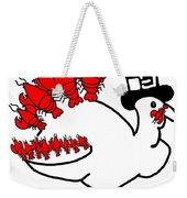 Lobster Turkey Weekender Tote Bag