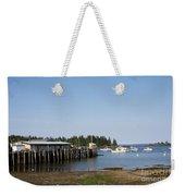 Lobster Wharf Weekender Tote Bag