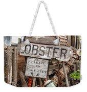 Lobster's Here Weekender Tote Bag