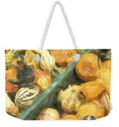 Local Glazed Gourds Painterly Effect Weekender Tote Bag