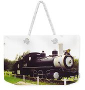 Locamotive Engine Landscape Weekender Tote Bag