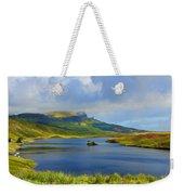 Loch Fada To The Storr Weekender Tote Bag