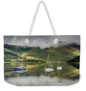 Loch Leven Sailboats Weekender Tote Bag