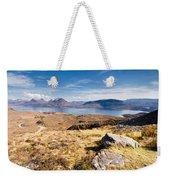 Loch Torridon From Bealach Na Gaoithe Weekender Tote Bag