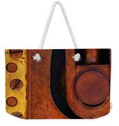 Lock Down Weekender Tote Bag by Skip Hunt