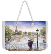 Locked In Love Weekender Tote Bag