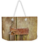 Locked Shut Weekender Tote Bag