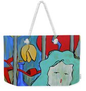 Locked Up Weekender Tote Bag