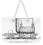 Locomotive, 1815 Weekender Tote Bag