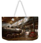 Locomotive - Locomotive Repair Shop Weekender Tote Bag