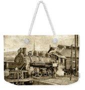 Locomotive No. 15 In The Yard Weekender Tote Bag