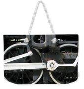 Locomotive Wheels Weekender Tote Bag