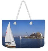 Locust Pt Sailing Weekender Tote Bag