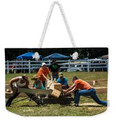 Log Cutting Competition Weekender Tote Bag