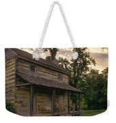 Log House Dusk Weekender Tote Bag