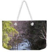Log Jam Weekender Tote Bag